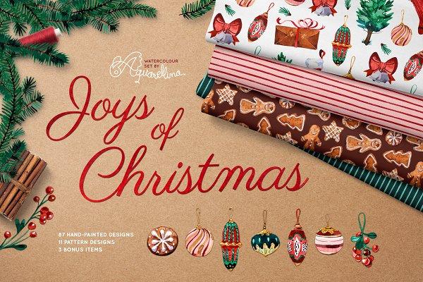 Joys of Christmas - Watercolour Set