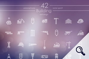 42 BUILDING icons