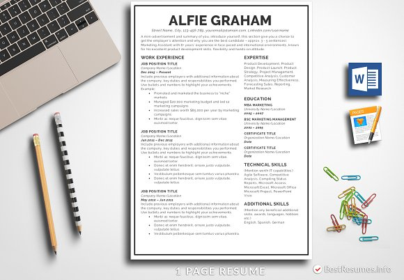 simple resume template pages word resumes