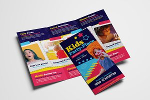 Kid's Party Trifold Brochure