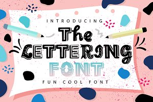 The Lettering Font