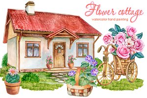 20% OFF! Flower cottage