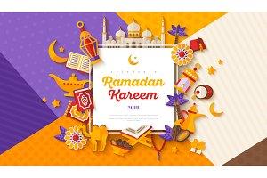 Ramadan Kareem concept