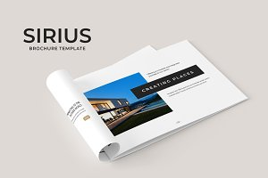 Sirius Brochure Template