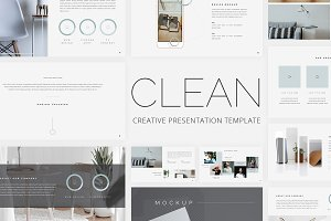 Clean - Creative Keynote Template