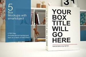 Box / Pack Mockups
