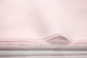 Pastel pink cotton cloth