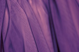 Ultraviolet fabric tulle