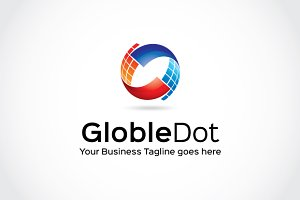 Globle dot Logo Template