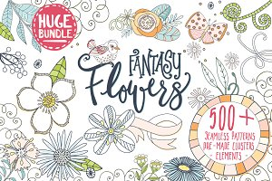 Fantasy Flower Floral Design Set