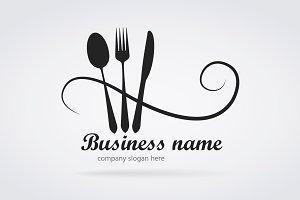 Logo modern restaurant