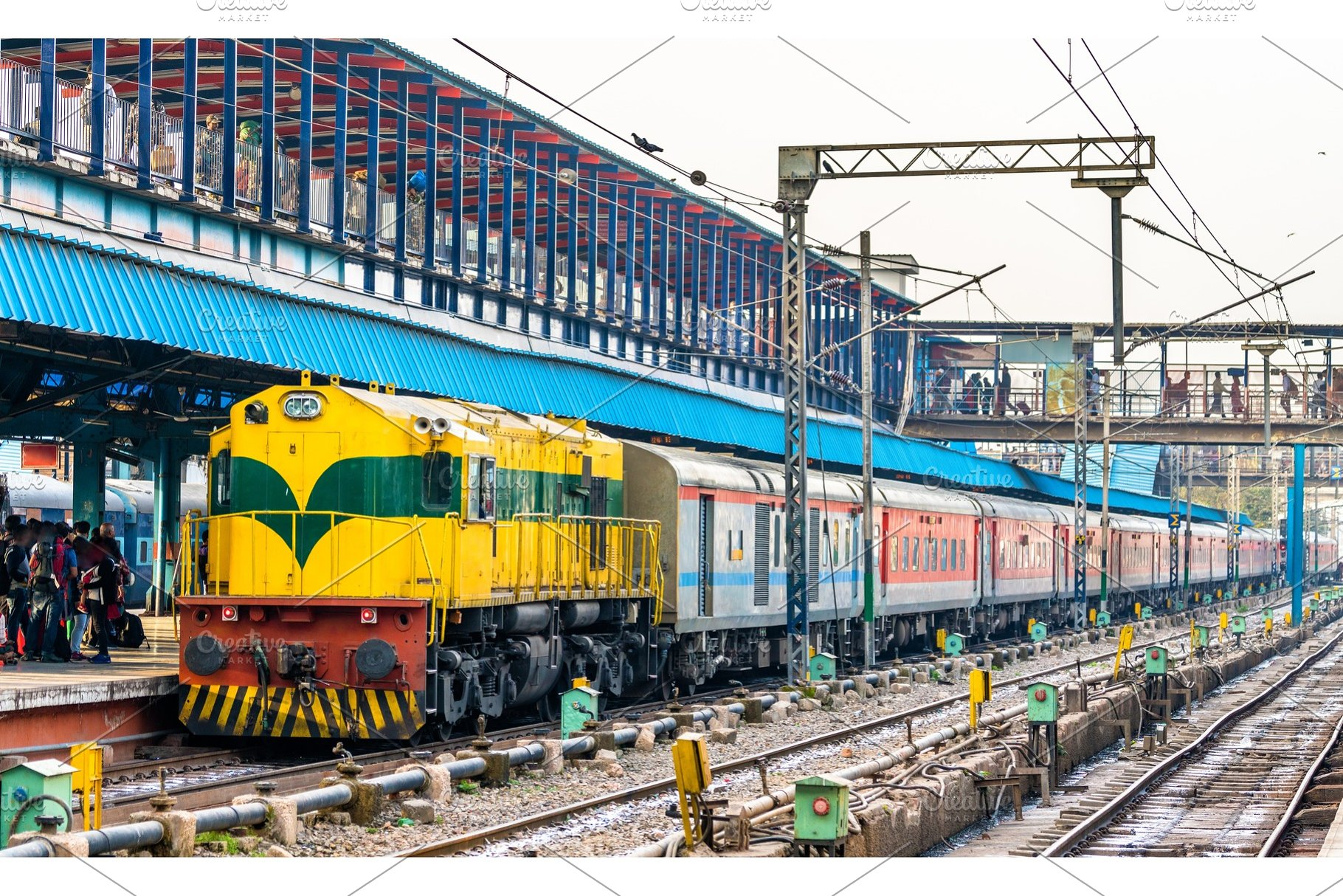Public Transport Options in Delhi: New Delhi Railway Station