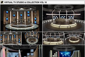 Virtual TV Chat Sets Collection 10