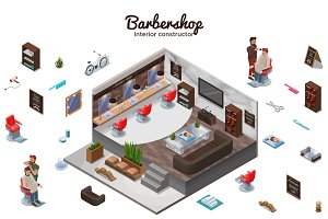 Barbershop isometric constructor