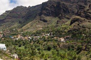 Valley near Valle Gran Rey city