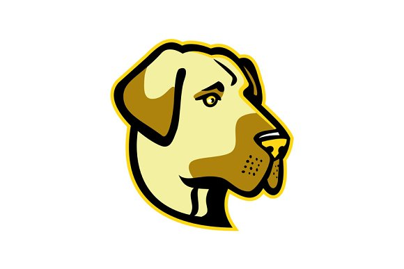 Anatolian Shepherd Dog Mascot