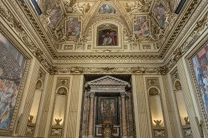 Side Chapel of the Basilica of St Mary in Trastevere