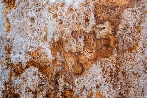 Rusty iron sheet for abstract background