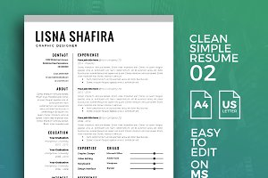 Resume Template 02