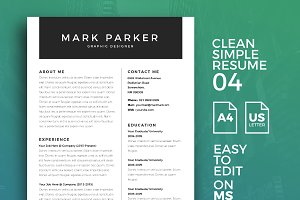 Resume Template 04