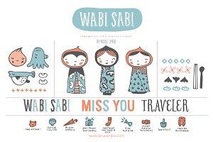 Wabi Sabi (Clipart)