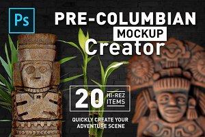 Pre-Colombian Mockup Creator