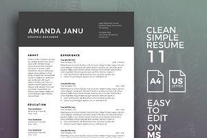 Resume Template 11