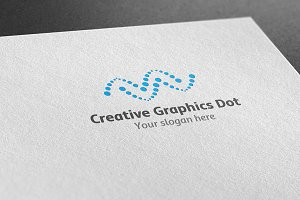 Creative Graphics Dot Logo