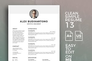Resume Template 13