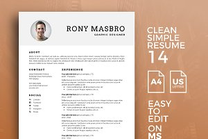 Resume Template 14