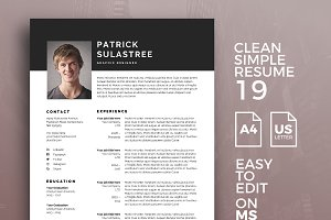 Resume Template 19