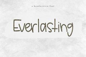 Everlasting - A Handwritten Font