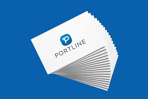 Portline - Letter P Logo