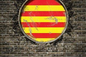 Catalonia spanish community flag
