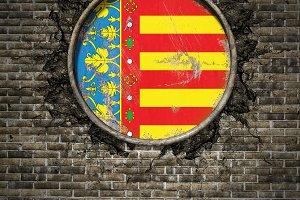Valencia spanish community flag