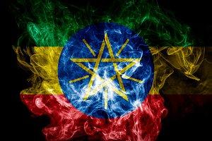 National flag of Ethiopia