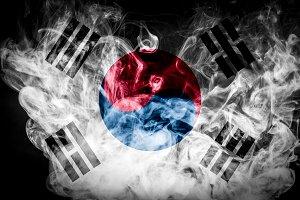 National flag Republic of Korea