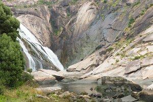 Waterfall of Ezaro, Galicia