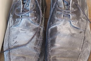 Dirty old shoes