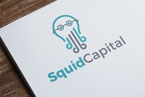 Squid Capital | Logo Template