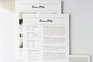 Creative Minimal Resume Template