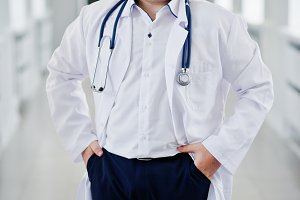 Young medical doctor