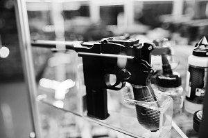 Old retro gun