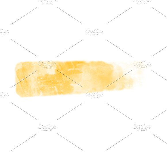Abstract Textured Gold Watercolor Well Use As Background Isolated Over White Background