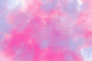 Colorful pink and blue smoke splash watercolor background
