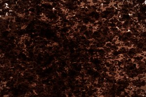 Brown watercolor splash on studio wall background.
