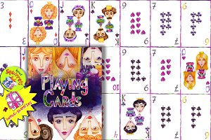 52 Playing cards