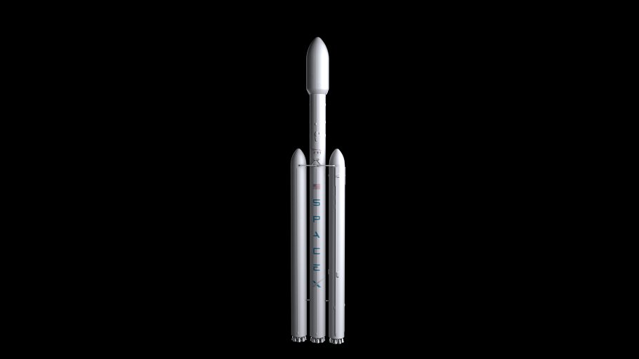 Falcon Heavy V1.2 Non Reusable