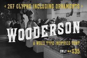 Wooderson Font