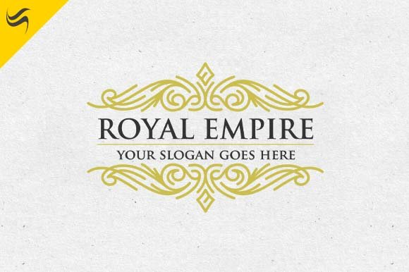 royal empire crest logo template logo templates creative market